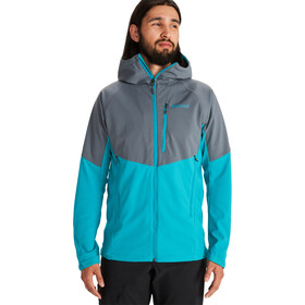 Marmot ROM Jacket Men steel onyx/enamel blue